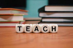 Teaching at b cafe